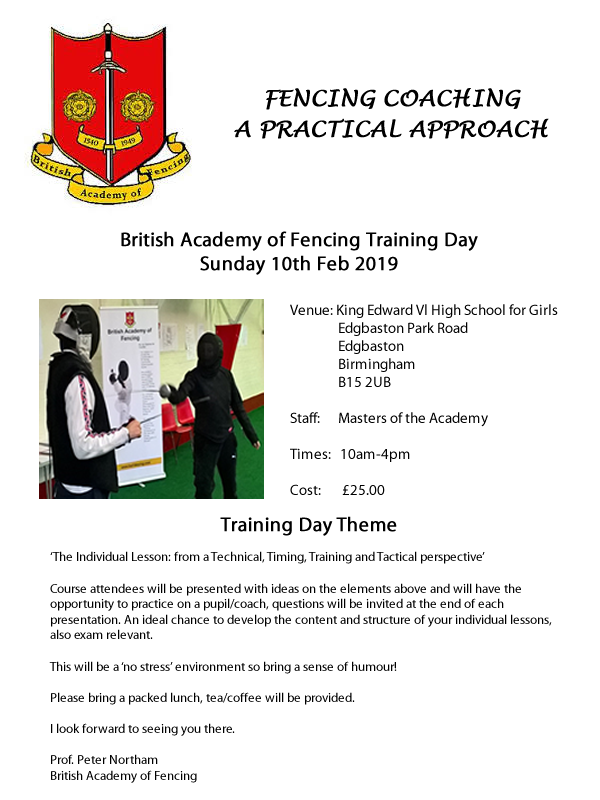 BAF Coaching Day 10Feb19